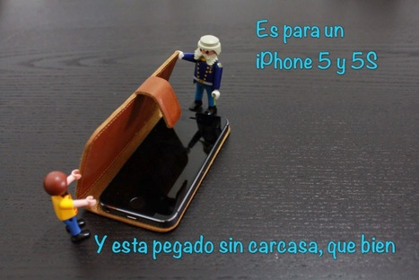 Funda iPhone 5/5S de piel envejecida Proporta (Review)   Reviews iPhone iPad accesorios   Scoop.it