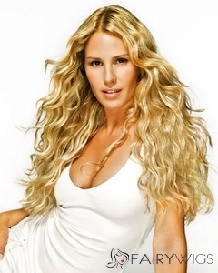 Blonde Full Lace Cheap Long Celebrity Hairstyle : fairywigs.com | Lace Wigs | Scoop.it