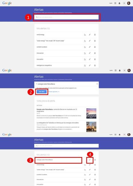 Google alerts o el secreto para automatizar tus búsquedas en Internet | GESTIÓN Y CURACIÓN DE CONTENIDOS | Scoop.it