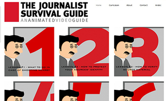 Animated journalist survival guide looks ahead - Journalist Security - Committee to Protect Journalists | Upic | Scoop.it