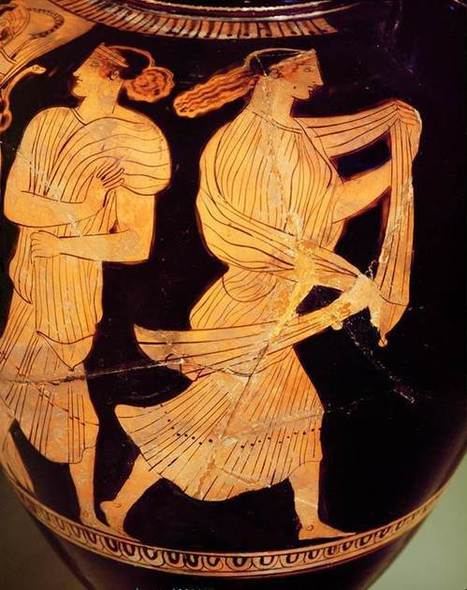 Characters of the Odyssey in Ancient Art | OUPblog | Mitología clásica | Scoop.it