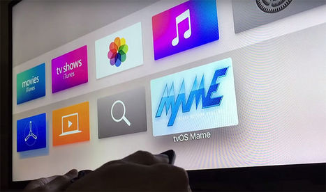 Video shows MAME emulator in action on Apple's tvOS | Digital Lifestyle Technologies | Scoop.it