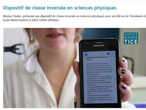 [Témoignage] Dispositif de #classeinversée en sciences physiques via @Usages_TICE | Teaching FRENCH | Scoop.it