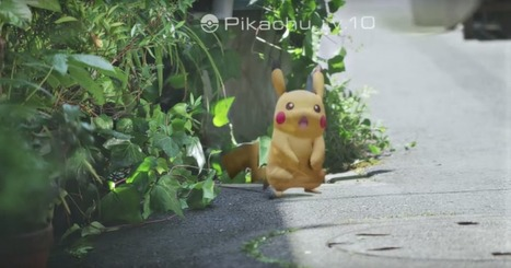 Nintendo's New 'Pokémon Go' Could Bring Augmented Reality To The Masses | 4D Pipeline - trends & breaking news in Visualization, Mobile, 3D, AR, VR, and CAD. | Scoop.it