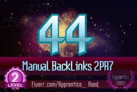 apprentice_need : I will provide LONELY Gig 44 Manual Backlinks 2PR7 x 3PR6 x 12PR5 x 12xPR4 x 15PR3 for $5 on www.fiverr.com | Get the inside scoop on the car window tinting business | Scoop.it