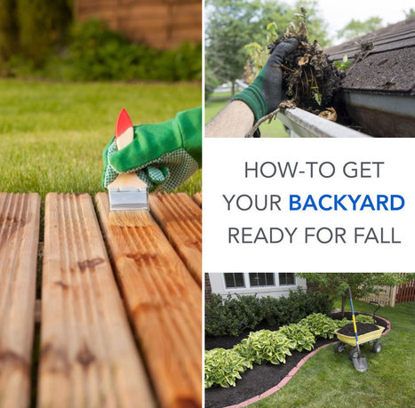 How-To Get Your Backyard Ready For Fall | Creative Covers | Scoop.it