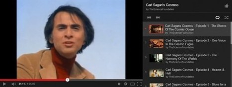 La serie completa de Cosmos, de Carl Sagan, en Youtube | ESCUELA 2.5 | Scoop.it