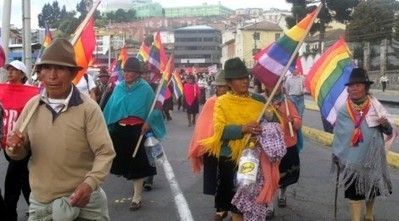 Indigenous march for water rights in Ecuador reaches Quito - Free Speech Radio News | biodiversity | Scoop.it