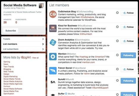 10 Tools for More Organized Influencer Research | Uso inteligente de las herramientas TIC | Scoop.it