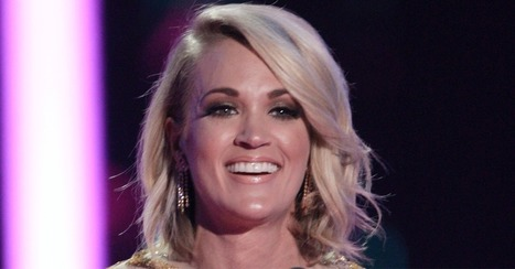 Carrie Underwood shows some love on Twitter for her celebrity crush | Country Music Today | Scoop.it