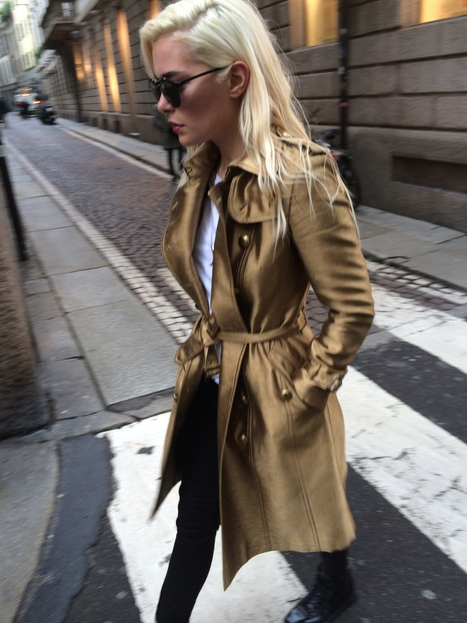 Milan Fashion Week 2014- Popping My Fashion Virginity!   Fashion outfits   Scoop.it