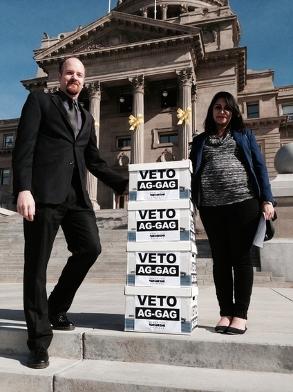 MFA Delivers Over 100,000 Signatures to Idaho Governor Urging Ag-Gag Veto - MFA Blog | Nature Animals humankind | Scoop.it