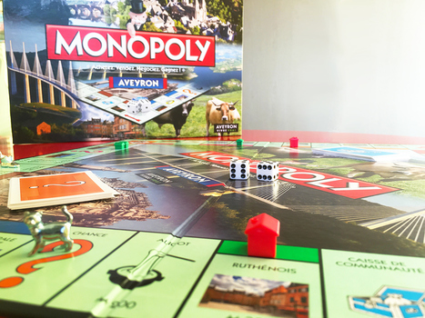 Un Monopoly spécial Aveyron | L'info tourisme en Aveyron | Scoop.it