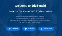 Q&A with Edusynch Founder Sean Kilachand | Learning Technology News | Scoop.it