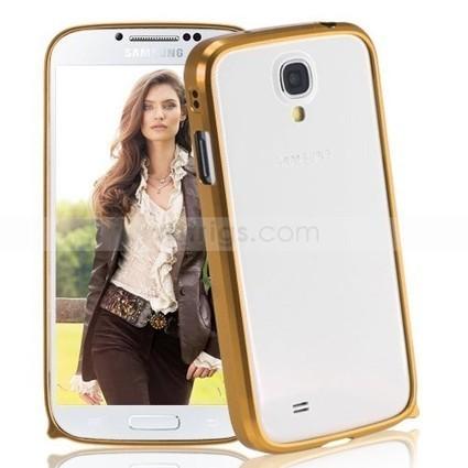 Ultrathin Metal Aluminium Bumper Case for Samsung Galaxy S4 Golden   Gadgets & Professional Repair Tools for smartphones   Scoop.it