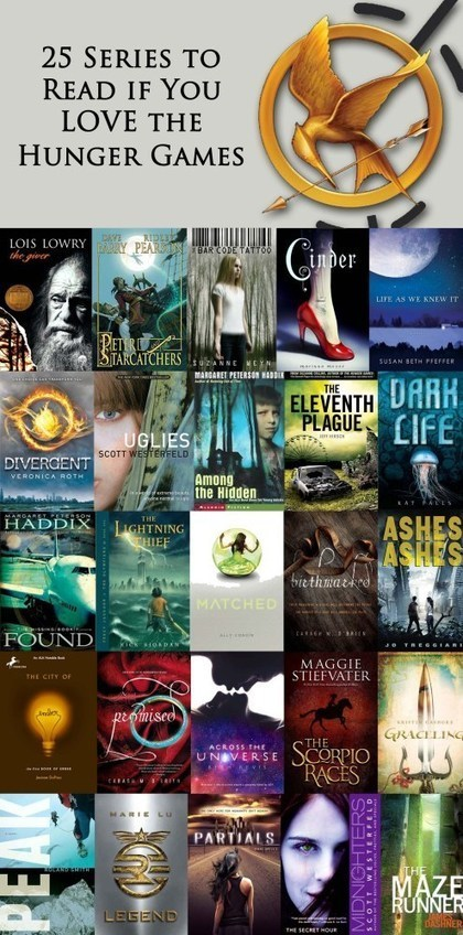 25 Series to Read if you LOVE the Hunger Games! | Reading, Books & Book Trailers | Scoop.it