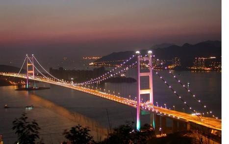 Tsing Ma Bridge - One of the world's longest suspension bridges   Bridges of the World   Scoop.it