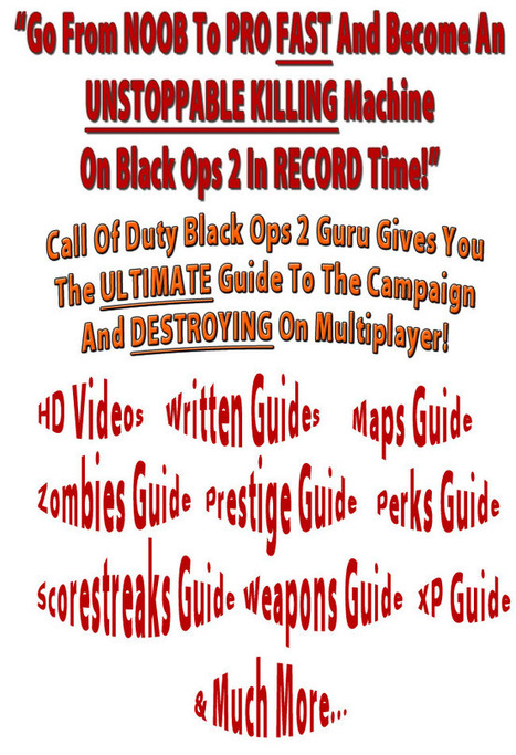 Call Of Duty Black Ops 2 Guru - Awesome Conversions! | shopping for | Scoop.it