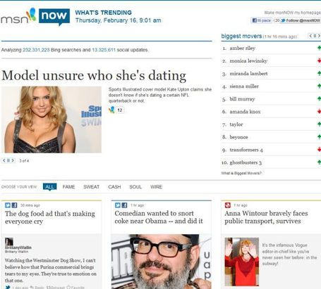 Microsoft Launches Curation Site msnNow | InformationWeek | The *Official AndreasCY* Daily Magazine | Scoop.it