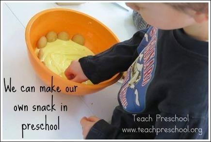 How we make our own snacks in preschool | Teach Preschool | Teach Preschool | Scoop.it