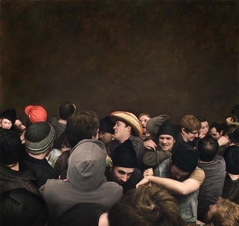 Epic Paintings Of Mosh Pits | Design, gadgets, photography + everything else | Scoop.it