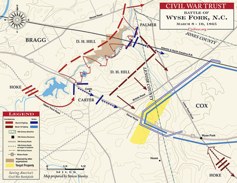 Wyse Fork - March 7-10, 1865 | civil war | Scoop.it