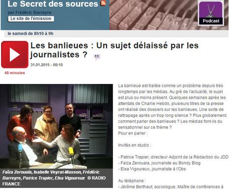 Les banlieues, un sujet délaissé par les journalistes? | DocPresseESJ | Scoop.it