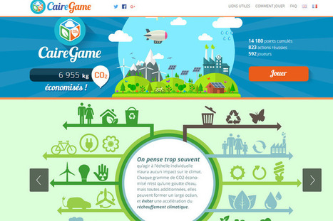 COP21 : un jeu pour limiter son émission de CO2 | SeriousGame.be | Scoop.it