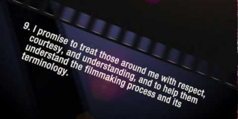 The Code of a Filmmaker - 12 Rules to Live By As a Filmmaker - Redforward | Stories - an experience for your audience - | Scoop.it