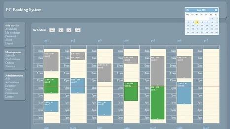 PCBook - Un système pour gérer des réservations de PC | Time to Learn | Scoop.it
