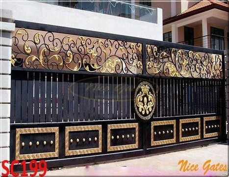 Cửa Cổng Sắt Đẹp | Cổng Sắt Mạ Kẽm- Sơn Epoxy Cao Cấp| Nice Gates | Ngoại Thất Sắt : Mạ kẽm thành phẩm, sơn Epoxy hoàn thiện! | Scoop.it