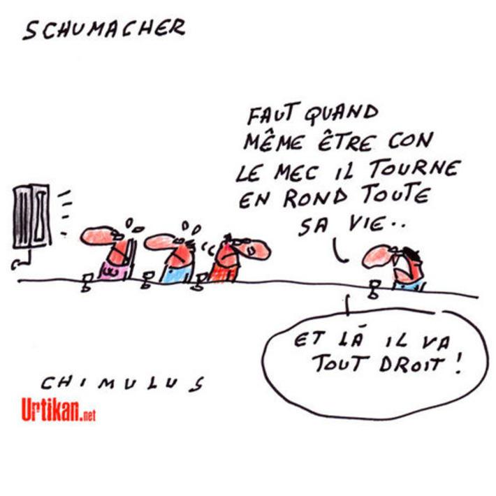 Accident de ski : Michael Schumacher «dans un état critique» | Baie d'humour | Scoop.it