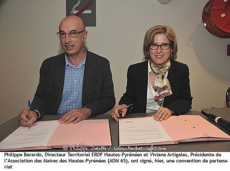 Signature d'une convention de partenariat entre ERDF et l'Association des Maires des Hautes-Pyrénées | Vallée d'Aure - Pyrénées | Scoop.it