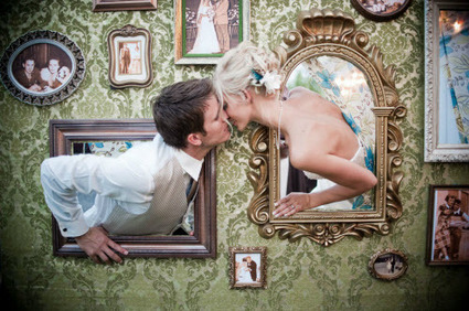 28 Ways to Shoot Fun and Creative Wedding Portraits   Photography   Scoop.it