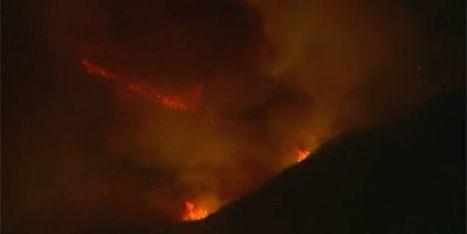 Californie : un violent incendie ravage le nord de Los Angeles | Planete DDurable | Scoop.it