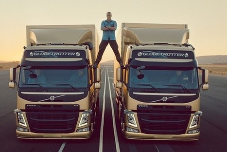 The Van Damme Dividend? Volvo Truck Sales Rise 31% - Corporate Intelligence - WSJ | Marketing in Motion | Scoop.it