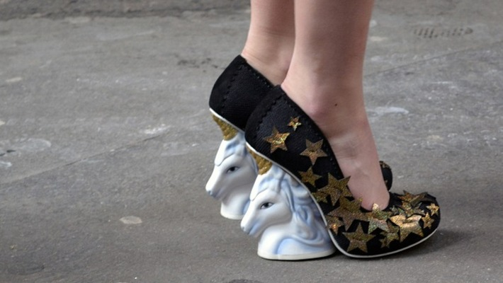 The heels of this shoe are made out of Unicorns and Cats! | Kitsch | Scoop.it