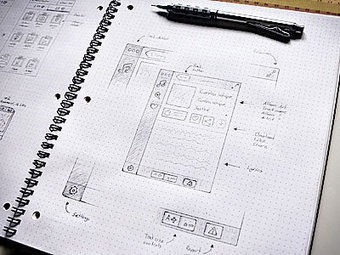 Inspiring UI Wireframe Sketches - Gisele Muller @GisMullr | Mapmakers | Scoop.it