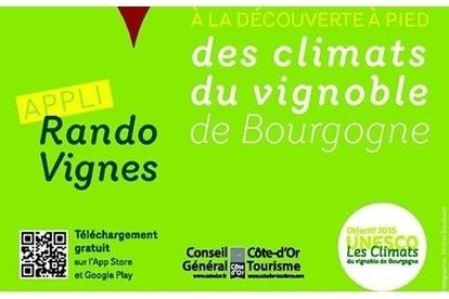 Découvrir la Bourgogne avec son smartphone - Terre de Vins | Oenotourisme | Scoop.it
