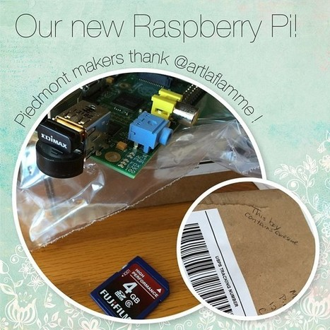 Adventures of Raspberry Pi — We just got a Raspberry Pi donated to our media... | Raspberry Pi | Scoop.it