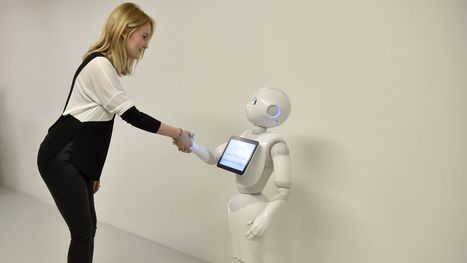 """Instead of asking, """"are robots becoming more human?"""" we need to ask """"are humans becoming more robotic?""""   Vous avez dit Innovation ?   Scoop.it"""