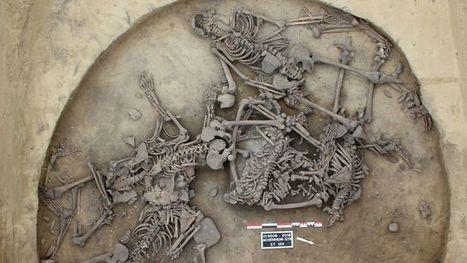 Crânes défoncés, bras coupés... Un massacre préhistorique mis au jour | Aux origines | Scoop.it