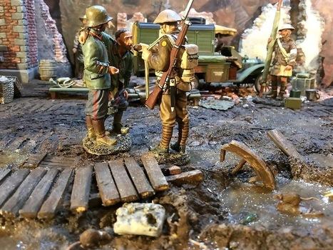Ypres diorama | Military Miniatures H.Q. | Scoop.it