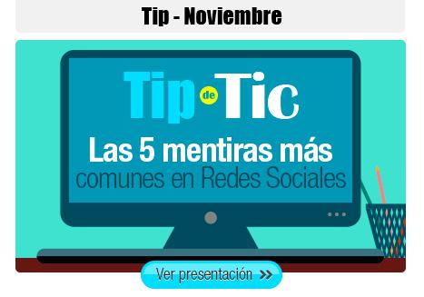 Tip de TIC - Noviembre 2014 | Tip de TIC | Scoop.it