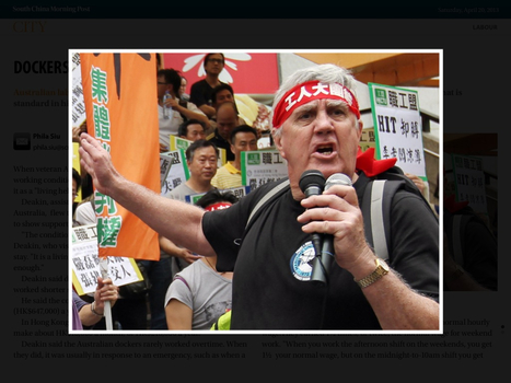 [Hong Kong] Dockers' plight is living hell: unionist | Asian Labour Update | Scoop.it