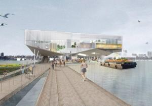 Architects imagine food, farm and ferry hub for abandoned 135th St. Marine Transfer Station | Vertical Farm - Food Factory | Scoop.it
