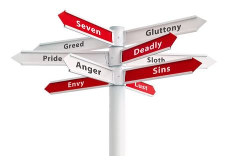 Avoiding the 7 Deadly Entrepreneurial Sins | Mediocre Me | Scoop.it