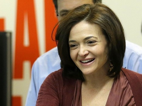 Facebook's Sheryl Sandberg urges support for more women leaders in business | Women | Scoop.it