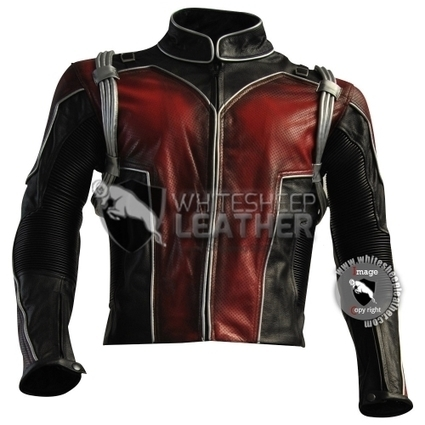 Scott Lang Ant-Man leather costume leather jacket coat / ant-man cosplay jacket | movie leather jackets | Scoop.it