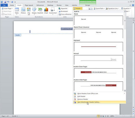 10 Expert Tips For Microsoft Word 2010 | Microsoft Office 2010 Mastery | Scoop.it